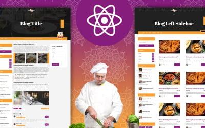 Fattaj – Indian Food React Template