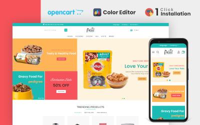 Paws Pet Store Opencart Theme