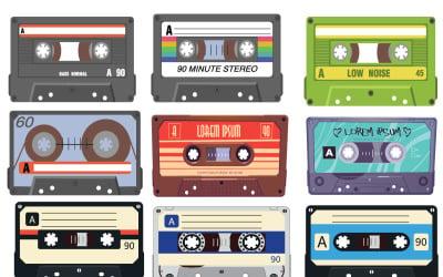 Аудіокасета для векторів музичної індустрії