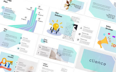 Clience Powerpoint Template