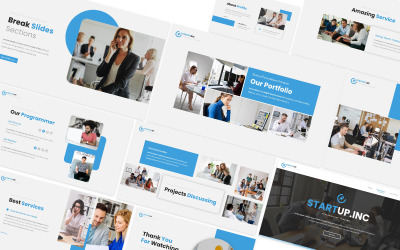 Startup.inc Powerpoint Template