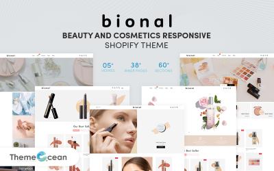 Bional - Beauty & Cosmetics Responsive Shopify Theme