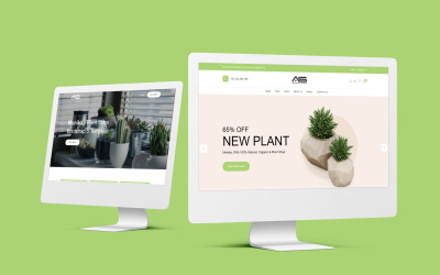 Monika - Plant Store Bootstrap 5 Website template
