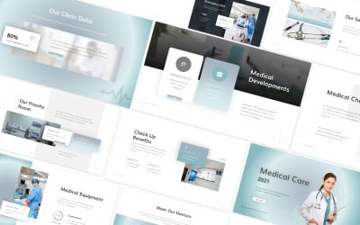 Medical Care 2 Powerpoint Template