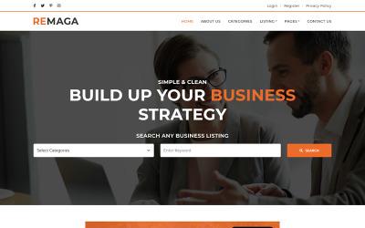 Remaga - Multipurpose Blog HTML5 Template