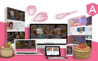 Summercream – Ice cream Shop Angular Js Template