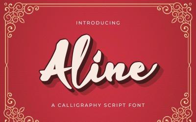Aline Script - Handwritten Font
