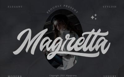 Magretta - Modern Script Font