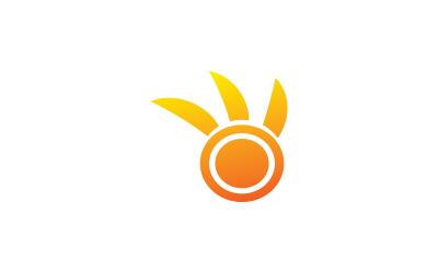 Solar Energy Power Logo Template