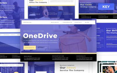 Onedrive - Business Keynote Presentation Template