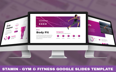 Stamin - Gym & Fitness Powerpoint Template
