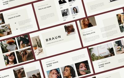 Braun PowerPoint šablony