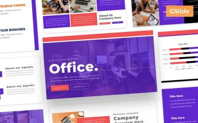 Office - Business Google Slides Presentation Template