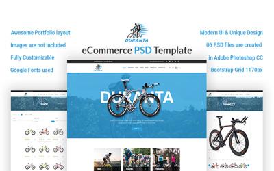 杜兰塔 – 电子商务 PSD 模板