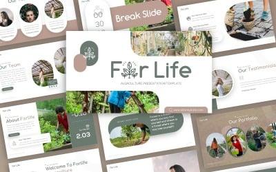 Forlife - Algaculture Multipurpose PowerPoint Template