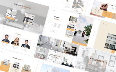 Apartment Property Powerpoint Template