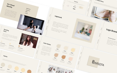 Barsota Brand Guideline Powerpoint Template