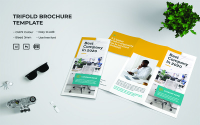 Best Company - Trifold Brochure