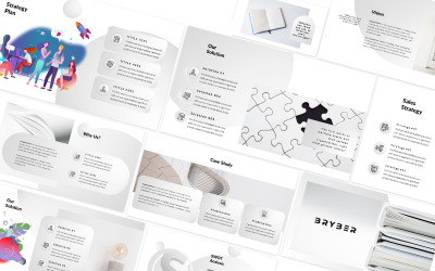 Bryber White Powerpoint Template