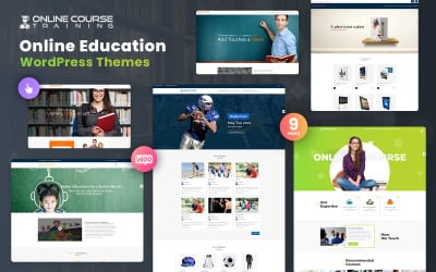 Online Course and Training Institute Motyw WordPress