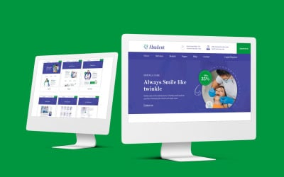 Abudent – Dental Care HTML Template