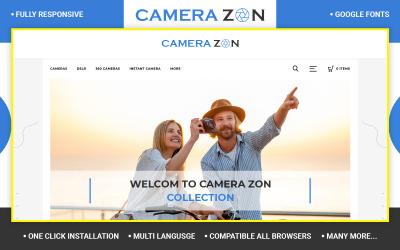 Camerazon - Camera Store Opencart téma