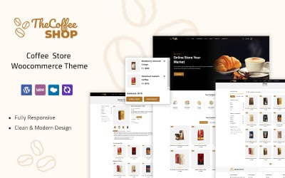 Coffeeshop - Coffee Store Woocommerce Thema