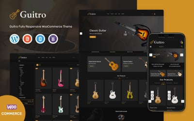 Guitro - Music WooCommerce Template
