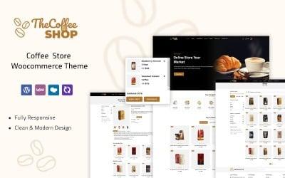 The Coffeeshop - Coffee Store Woocommerce Theme