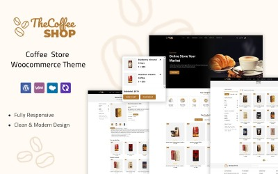 The Coffeeshop - Motyw Woocommerce Coffee Store