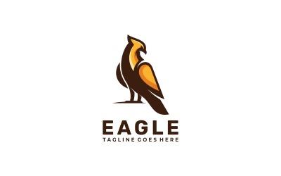 Eagle Simple Mascot Logo Style