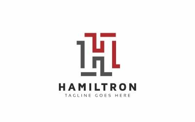 Hamiltron H Letter Logo Template