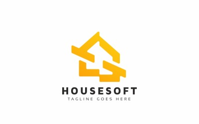 House Software Logo Template