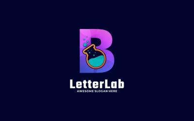 Letter B Lab Gradient Logo