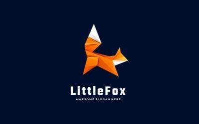 Little Fox Low Poly Logo Style