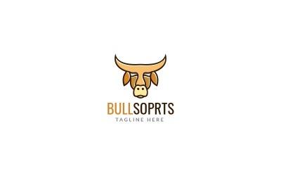 Bull Sports Logo Design Template