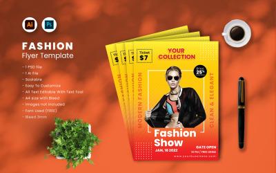 Fashion Flyer Template vol.34