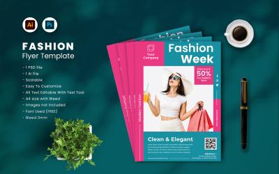Fashion Flyer Template vol.43