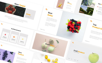 Fruit Store Google Slides Template