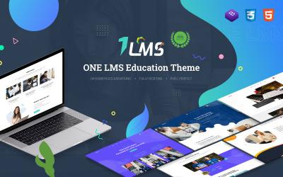 Tema WordPress de Educação   OneLMS