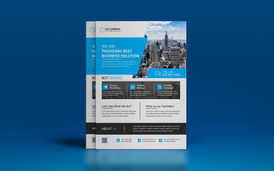 Digital Marketing Agency Flyer Template