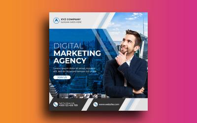 Digital Marketing Agency Instagram Post Social Media Post Template