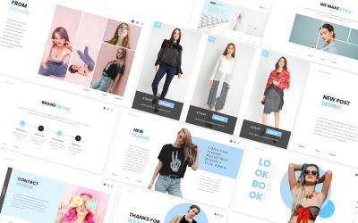 Fashion Lookbook Googleslides Template