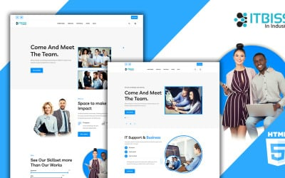 ITbiss - Business & IT HTML5 Template