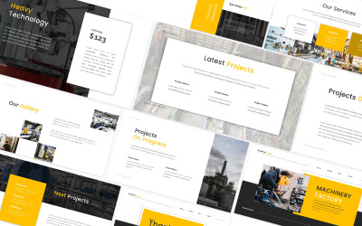 Machinery Factory Googleslides Template