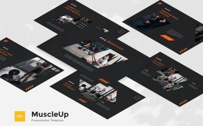 MuscleUp - Gym Google Slides Template
