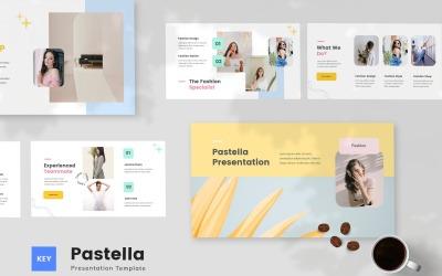 Pastella - Pastel Style Keynote Template