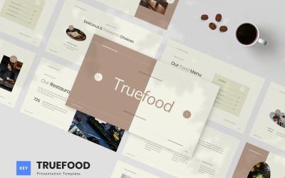 Truefood - Cafe & Restaurant Keynote Template