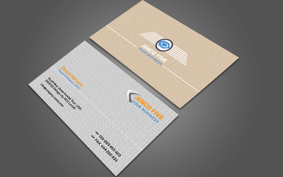 Corporate Business Card so-123