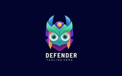 Owl Defender Gradient Logo